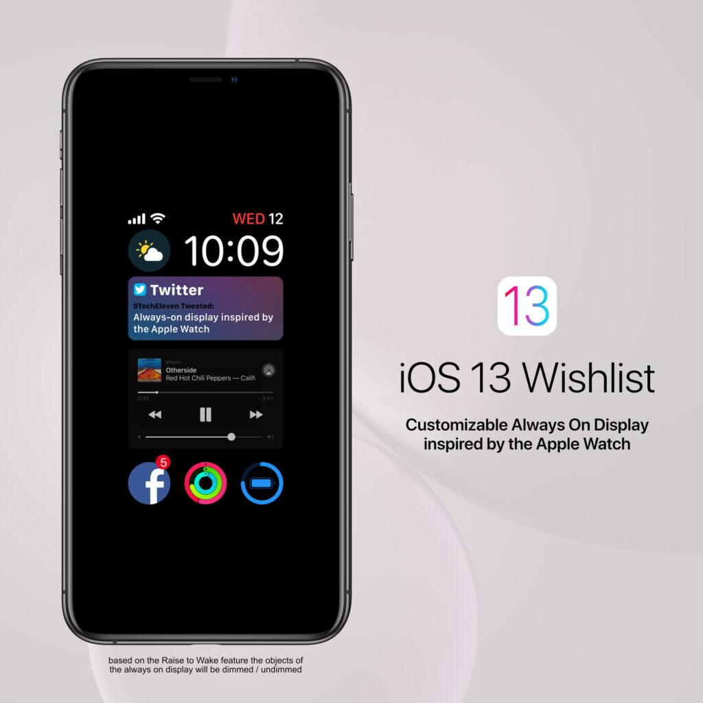 Resultado de imagen para novedades del iPhone 13 en always on display
